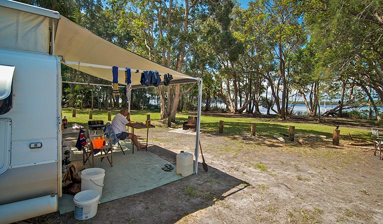 Dees Corner campground - Great Ocean Road Tourism