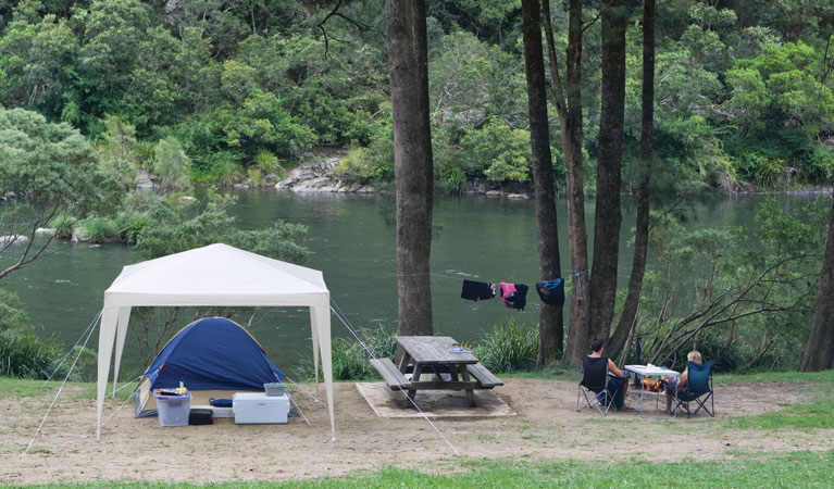 Platypus Flat campground - Great Ocean Road Tourism