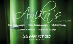 Anikas Massage Therapy - Great Ocean Road Tourism