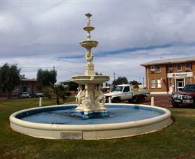 Cunnamulla War Memorial Fountain - Great Ocean Road Tourism