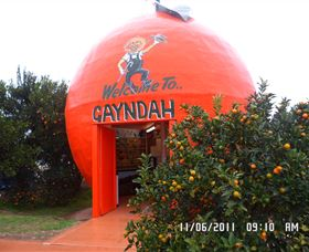 Gayndahs Big Orange - Great Ocean Road Tourism