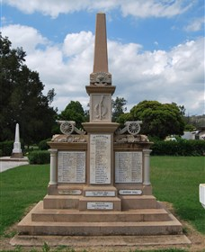 Boer War Memorial and Park Allora - Great Ocean Road Tourism