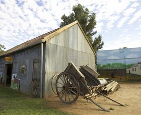 The Ned Kelly Blacksmith Shop - Great Ocean Road Tourism