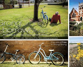 Grong Grong Borrow Bikes - Great Ocean Road Tourism