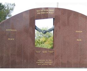 Cowra Italy Friendship Monument - Great Ocean Road Tourism