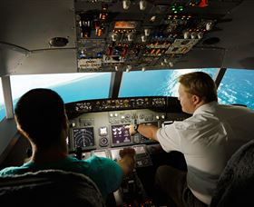 Jet Flight Simulator Sydney