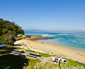 Merimbula Bar Beach - Great Ocean Road Tourism