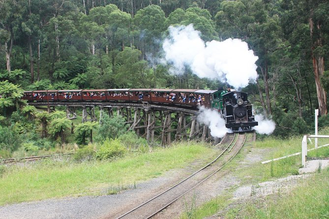 Puffing Billy Dandenong Ranges  Brighton Bathing Boxes  Experience - Great Ocean Road Tourism