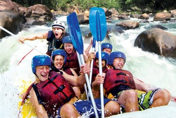 Tully River Full-Day White Water Rafting from Cairns including Lunch