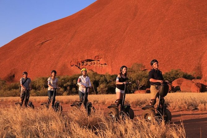 Quarter Uluru Segway  Sunset - Great Ocean Road Tourism