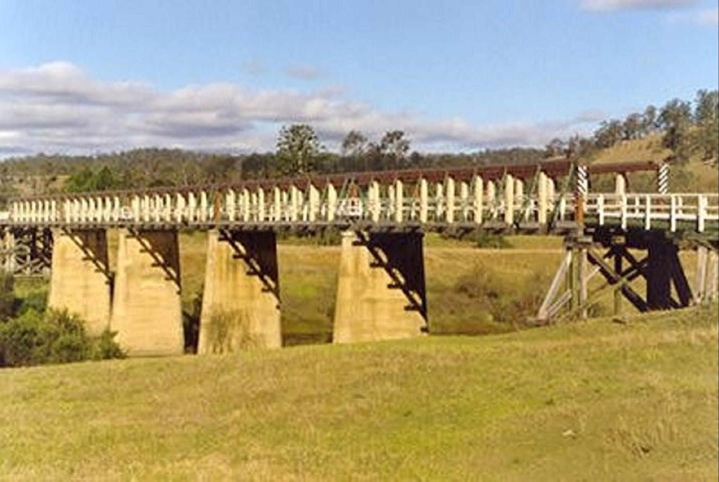 Historic Tabulam DeBurgh Timber Bridge - Great Ocean Road Tourism