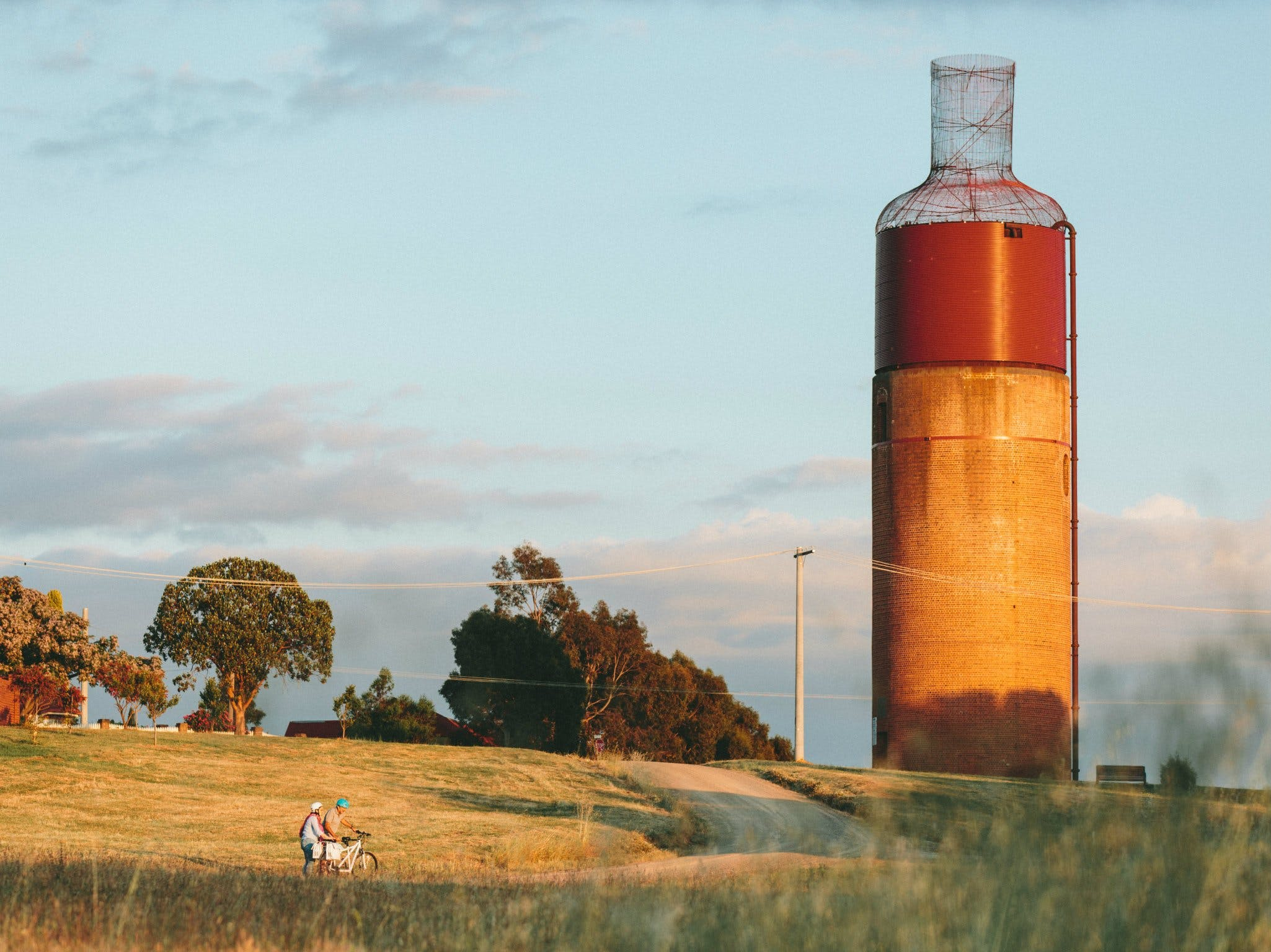 Rutherglen Wine Bottle - Great Ocean Road Tourism