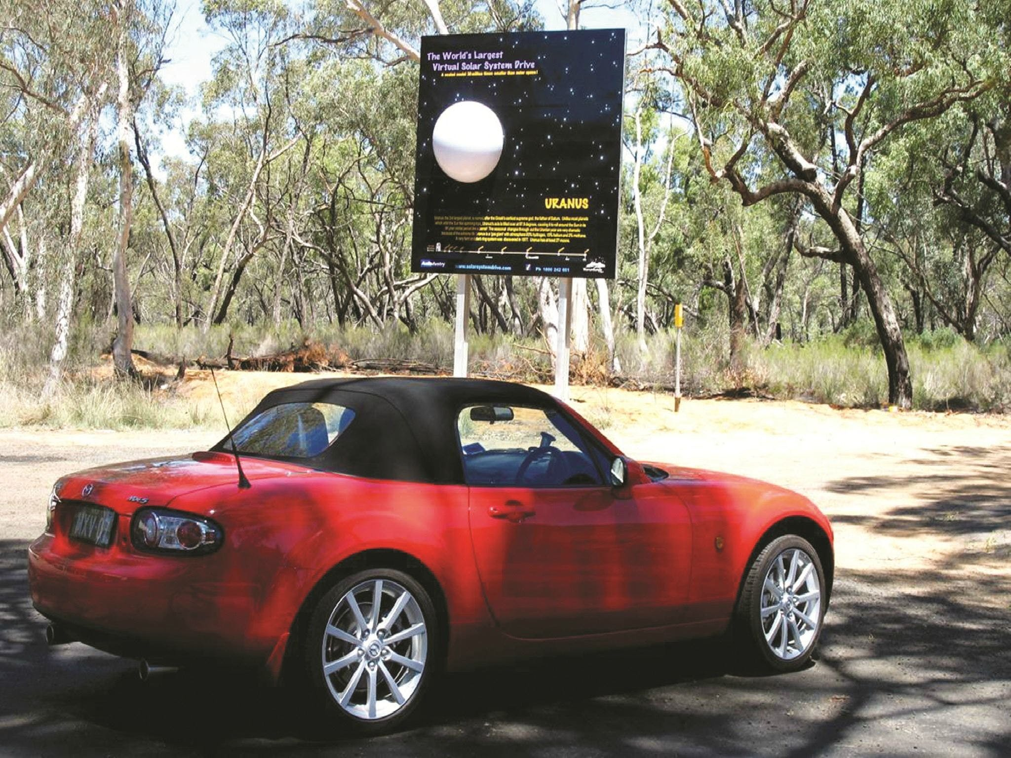 Worlds Largest Virtual Solar System Drive - Great Ocean Road Tourism
