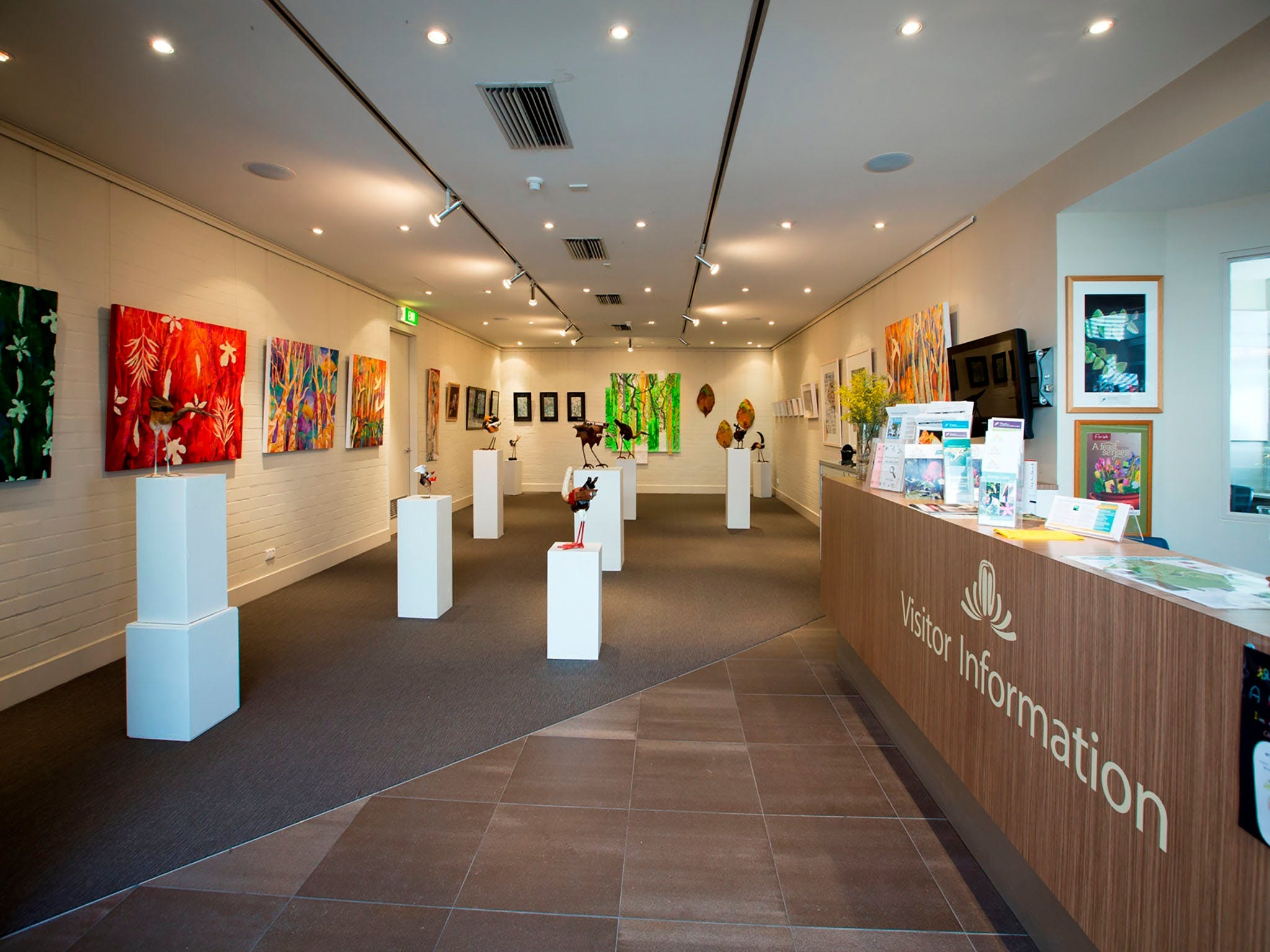 Australian National Botanic Gardens Visitor Centre Gallery - Great Ocean Road Tourism