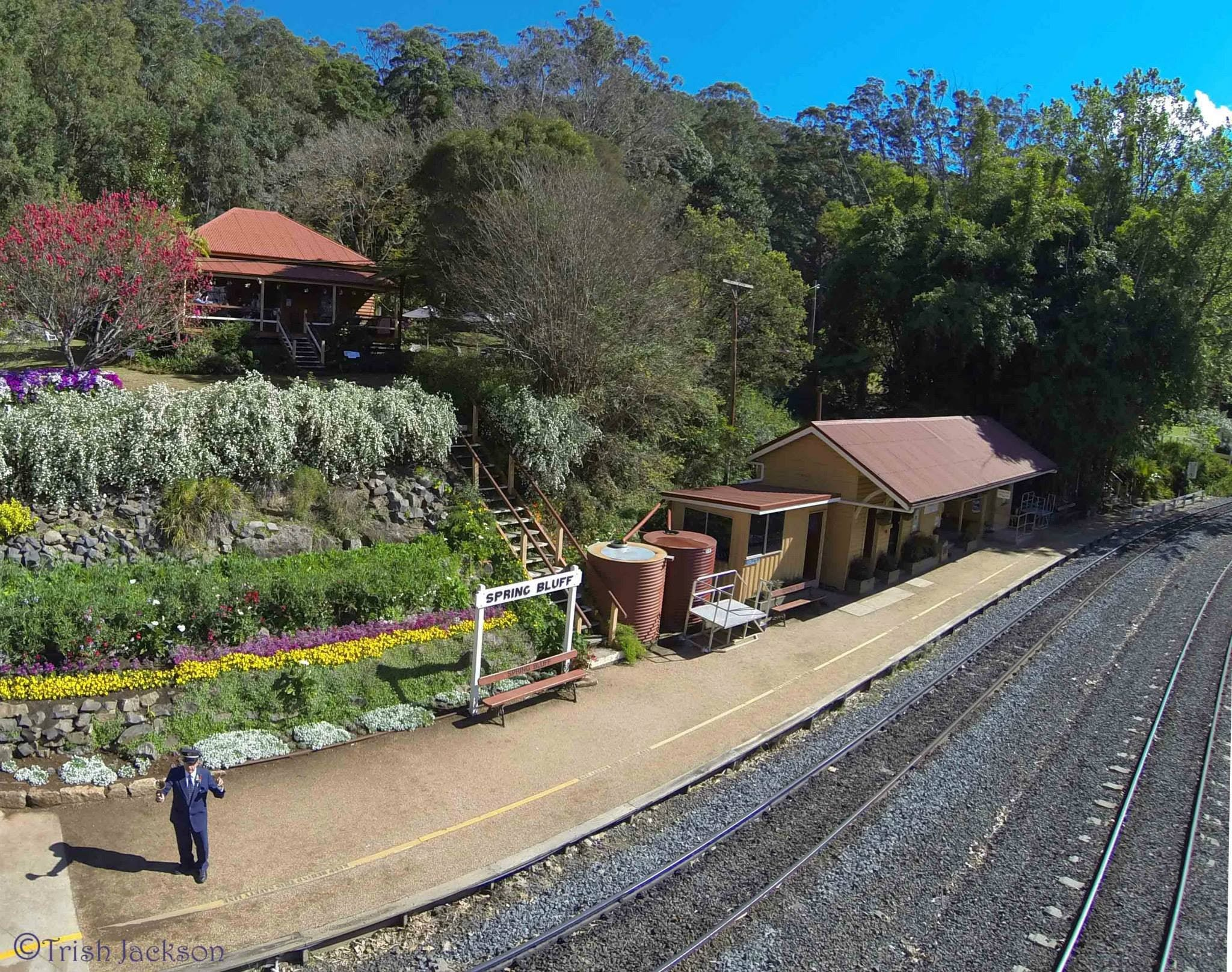 Spring Bluff Railway Station - Great Ocean Road Tourism