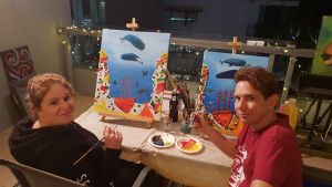 Paint and Sip Social Art Classes 2 for 1 - Great Ocean Road Tourism