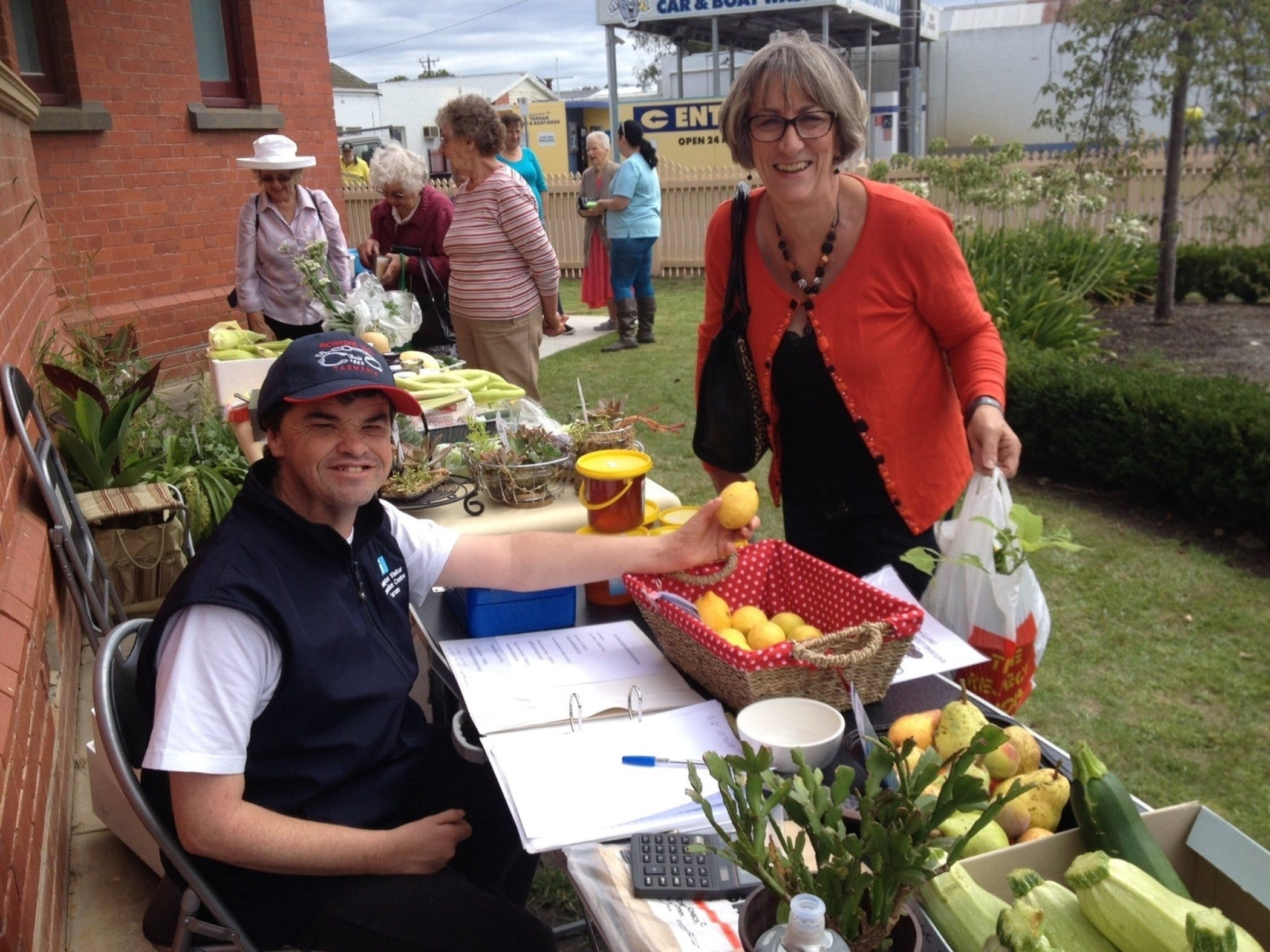 Yarram Courthouse Garden Produce Market - Great Ocean Road Tourism