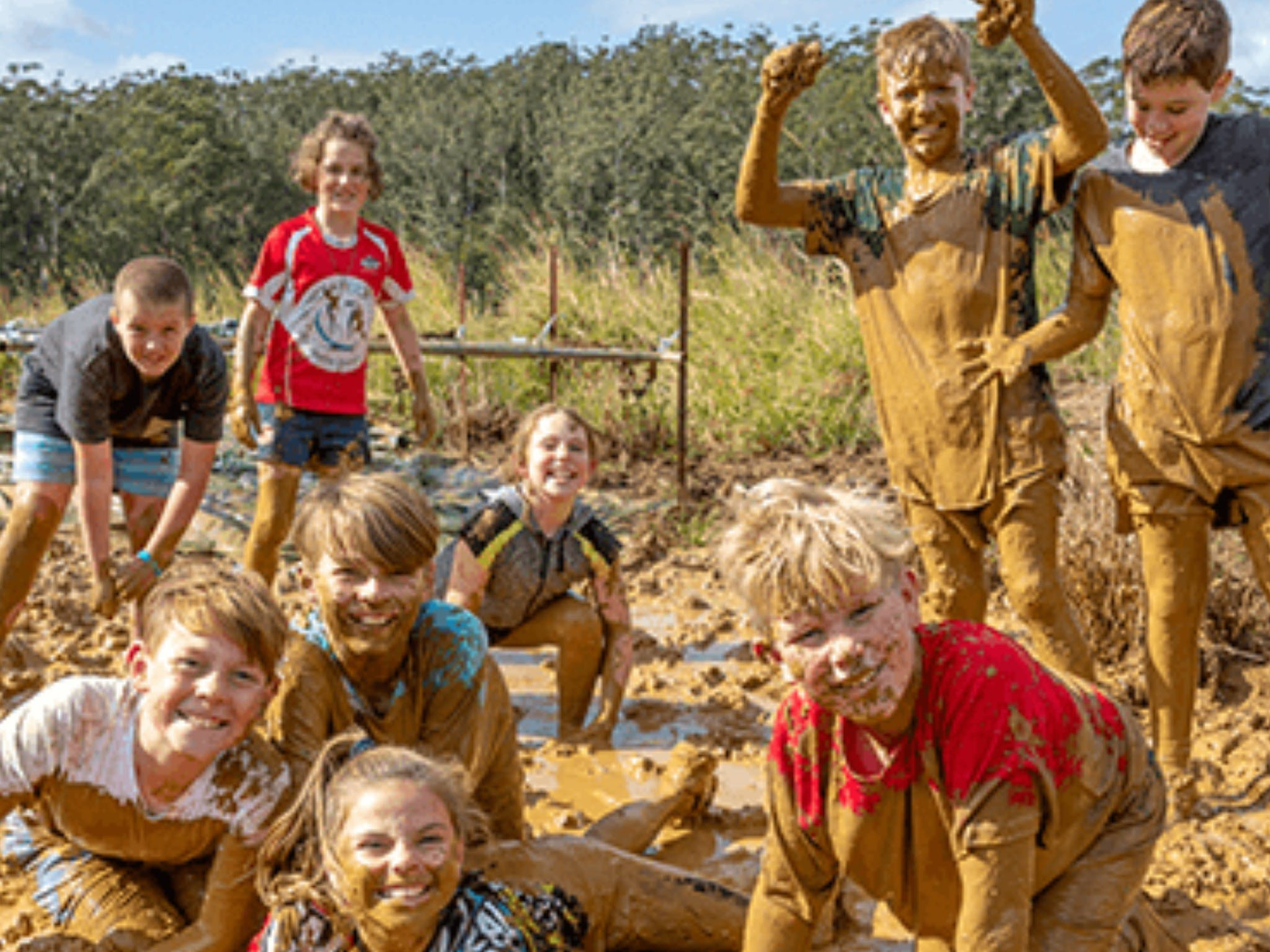 Mini Muddies Obstacle Challenge at Bunnamagoo Estate - Great Ocean Road Tourism