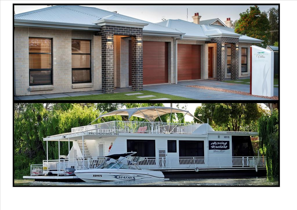 Renmark River Villas and Boats  Bedzzz - Great Ocean Road Tourism