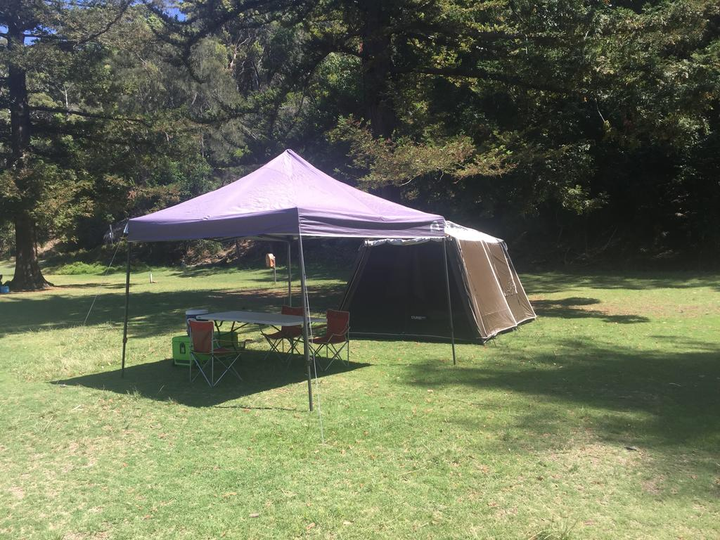 Basin Ku-ring-gai Campsite Set Up - Great Ocean Road Tourism